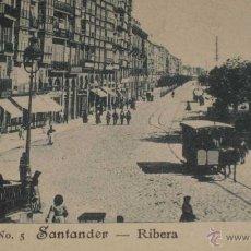 Postales: ANTIGUA POSTAL DE SANTANDER - SERIE I Nº 5 - RIBERA - PRPIEDAD DE S. CUEVAS - NO CIRCULADA - SIN DIV. Lote 38262282