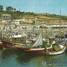 Postales: +-+ PV1196 - POSTAL - SAN VICENTE DE LA BARQUERA - MUELLE Y BARRIO DE PESCADORES. Lote 40734480