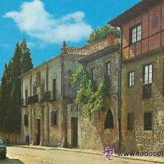 Postales: +-+ PV1318 - POSTAL - SANTILLANA DEL MAR - CASA DE LOS MARQUESES DE BENAMEJÍ - SIN CIRCULAR. Lote 40741540