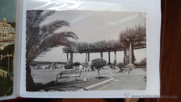 POSTAL DE SANTANDER. JARDINES DE PIQUIO. AÑOS 60. CIRCULADA (Postales - España - Cantabria Moderna (desde 1.940))