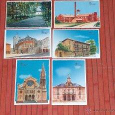 Postales: POSTALES DE DIBUJOS DE TORRELAVEGA.. Lote 41189915