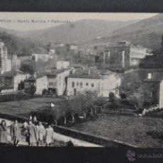 Postales: ANTIGUA POSTAL DE LIMPIAS. CANTABRIA. BARRIO RUCOBA Y PARROQUIA. SIN CIRCULAR. Lote 41257297
