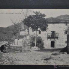 Postales: ANTIGUA POSTAL DE LIMPIAS. CANTABRIA. BARRIO DEL RIO. SIN CIRCULAR. Lote 41257430