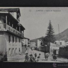 Postales: ANTIGUA POSTAL DE LIMPIAS. CANTABRIA. CALLE DE SUCAMINO. SIN CIRCULAR. Lote 41257568