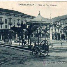 Postales: TORRELAVEGA. PLAZA DE G. QUIJANO. EDICIÓN C HERRERO. SIN CIRCULAR. . Lote 41284934