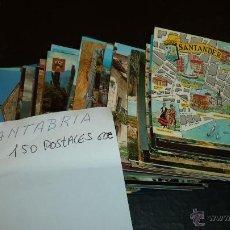 Postales: POSTALES DE CANTABRIA LOTE DE UNAS 85 POSTALES DE LOS AÑOS 80. 4-5 CIRCULADAS.. Lote 41338858