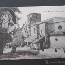 Postales: POSTAL CANTABRIA. LIMPIAS. IGLESIA PARROQUIAL. . Lote 42207612