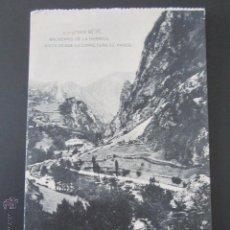 Postales: POSTAL CANTABRIA. SANTANDER. BALNEARIO DE LA HERMIDA. VISTA DESDE LA CARRETERA DE PANES. . Lote 42207837
