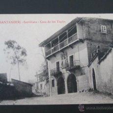 Postales: POSTAL CANTABRIA. SANTANDER. SANTILLANA. CASA DE LOS TAGLES. . Lote 42208795