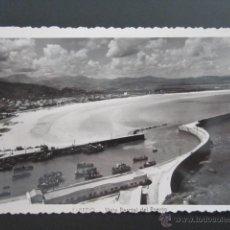 Cartoline: POSTAL CANTABRIA. LAREDO. VISTA PARCIAL DEL PUERTO. CIRCULADA. AÑO 1954. . Lote 42211065