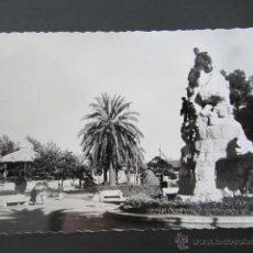 Postales: POSTAL CANTABRIA. SANTANDER. MONUMENTO Y JARDINES DE PEREDA. CIRCULADA. AÑO 1962. . Lote 42221025