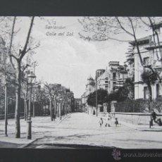 Postales: POSTAL CANTABRIA. SANTANDER. CALLE DEL SOL. . Lote 42221138