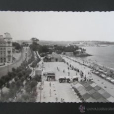 Postales: POSTAL CANTABRIA. SANTANDER. PRIMERA PLAYA. CIRCULADA, AÑO 1954. . Lote 42221204