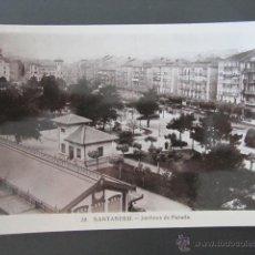Postales: POSTAL CANTABRIA. SANTANDER. JARDINES DE PEREDA. . Lote 42221210