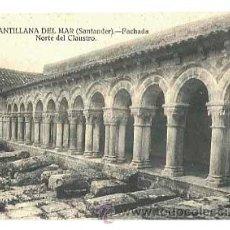 Cartes Postales: SANTANDER SANTILLANA DEL MAR FACHADA NORTE DEL CLAUSTRO ED. FOTO MONTES. SIN CIRCULAR. Lote 42354252