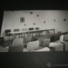 Postales: VEGA DE CARRIEDO CANTABRIA SALA DE ACTOS EN LA CASA DE LOPE DE VEGA. Lote 42365641