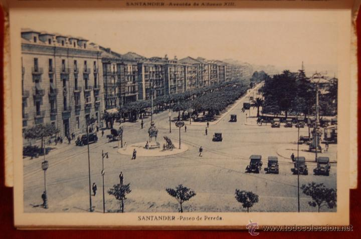 Postales: ALBUM DE POSTALES RECUERDO DE SANTANDER. 1ª SERIE. 10 VISTAS - Foto 4 - 42398084