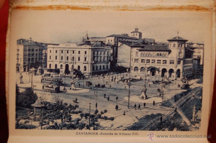 Postales: ALBUM DE POSTALES RECUERDO DE SANTANDER. 1ª SERIE. 10 VISTAS - Foto 6 - 42398084