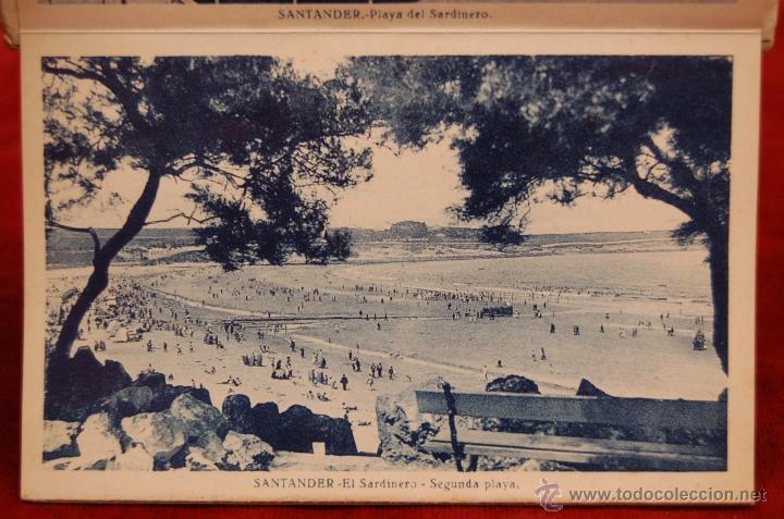 Postales: ALBUM DE POSTALES RECUERDO DE SANTANDER. 1ª SERIE. 10 VISTAS - Foto 7 - 42398084