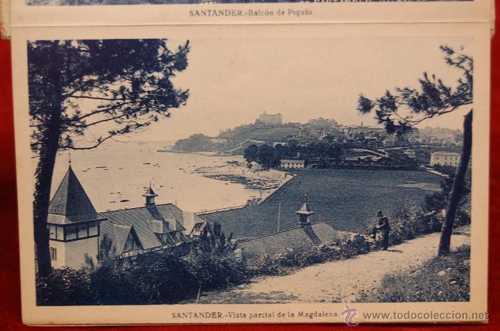 Postales: ALBUM DE POSTALES RECUERDO DE SANTANDER. 1ª SERIE. 10 VISTAS - Foto 9 - 42398084