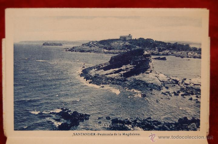 Postales: ALBUM DE POSTALES RECUERDO DE SANTANDER. 1ª SERIE. 10 VISTAS - Foto 12 - 42398084