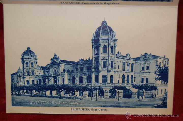 Postales: ALBUM DE POSTALES RECUERDO DE SANTANDER. 1ª SERIE. 10 VISTAS - Foto 13 - 42398084