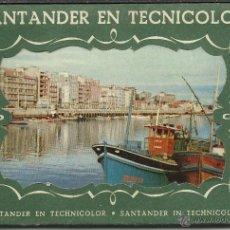 Postales: ANTIGUO TACO DE 10 POSTALES ANTIGUAS DE SANTANDER VER FOTOS. Lote 42600883