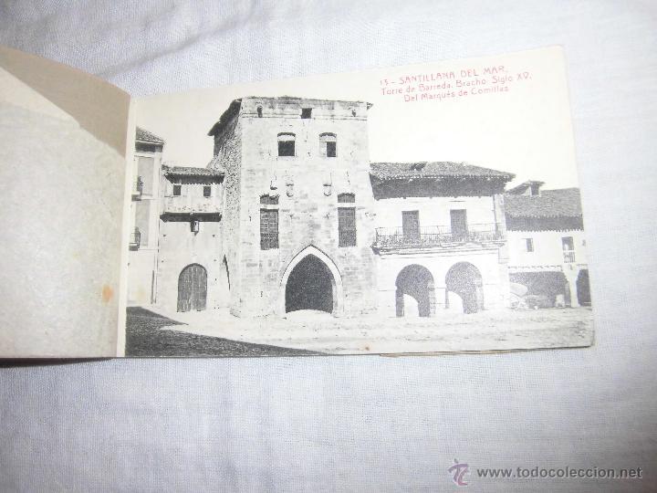 Postales: RECUERDO DE SANTILLANA DEL MAR EDICIONES ADOLFO HERRERO 2ª SERIE 14 POSTALES FALTA UNA - Foto 2 - 42959781