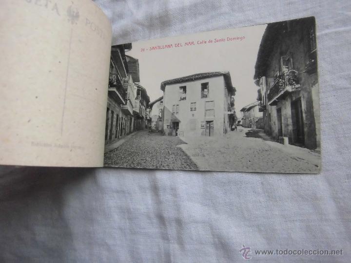 Postales: RECUERDO DE SANTILLANA DEL MAR EDICIONES ADOLFO HERRERO 2ª SERIE 14 POSTALES FALTA UNA - Foto 3 - 42959781