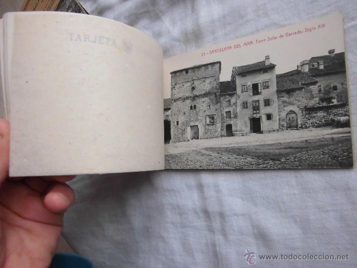 Postales: RECUERDO DE SANTILLANA DEL MAR EDICIONES ADOLFO HERRERO 2ª SERIE 14 POSTALES FALTA UNA - Foto 6 - 42959781
