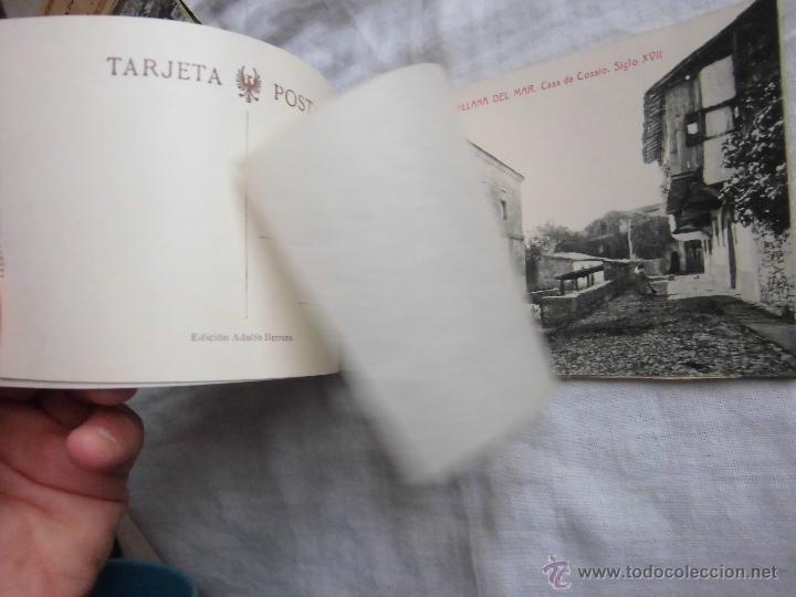Postales: RECUERDO DE SANTILLANA DEL MAR EDICIONES ADOLFO HERRERO 2ª SERIE 14 POSTALES FALTA UNA - Foto 7 - 42959781
