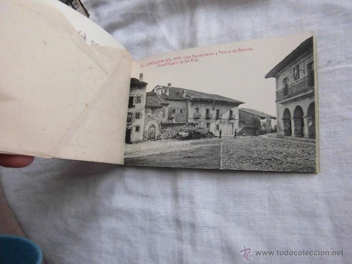 Postales: RECUERDO DE SANTILLANA DEL MAR EDICIONES ADOLFO HERRERO 2ª SERIE 14 POSTALES FALTA UNA - Foto 8 - 42959781