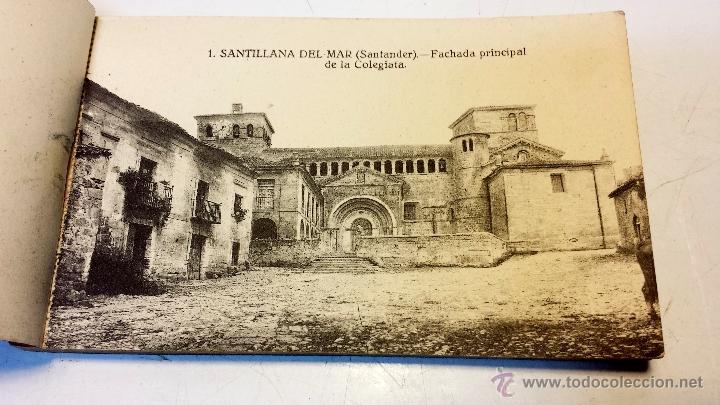 Postales: ALBUM POSTALES RECUERDO DE SANTILLANA DEL MAR. CON 25 POSTALES. VER - Foto 2 - 43342757