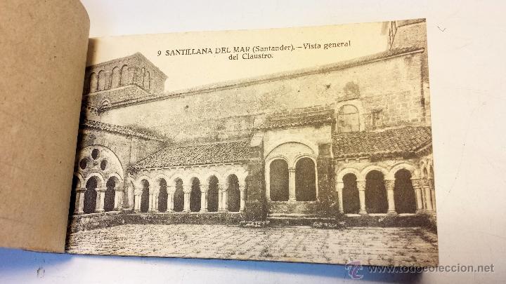 Postales: ALBUM POSTALES RECUERDO DE SANTILLANA DEL MAR. CON 25 POSTALES. VER - Foto 3 - 43342757