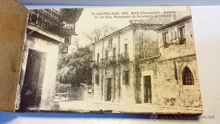 Postales: ALBUM POSTALES RECUERDO DE SANTILLANA DEL MAR. CON 25 POSTALES. VER - Foto 5 - 43342757