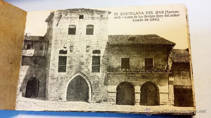 Postales: ALBUM POSTALES RECUERDO DE SANTILLANA DEL MAR. CON 25 POSTALES. VER - Foto 6 - 43342757