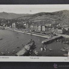Postales: FOTO POSTAL DE CASTRO URDIALES. CANTABRIA. VISTA PARCIAL. CIRCULADA. Lote 43355021