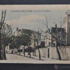 Postales: ANTIGUA POSTAL DE CASTRO URDIALES. CANTABRIA. CALLE DE LA RONDA. ED. C. DIEZ. SIN CIRCULAR. Lote 43726180