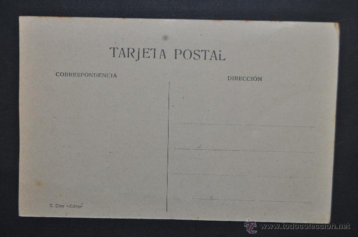 Postales: ANTIGUA POSTAL DE CASTRO URDIALES. CANTABRIA. CALLE DE LA RONDA. ED. C. DIEZ. SIN CIRCULAR - Foto 2 - 43726180