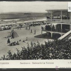 Postales: SANTANDER - 143- SARDINERO BALNEARIO LA TERRAZA - FOTOGRAFICA ROISIN - (22883). Lote 43480098