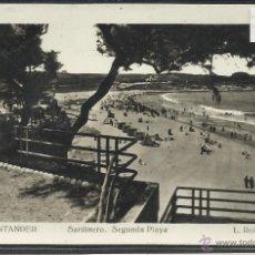 Postales: SANTANDER - 414- SARDINERO SEGUNDA PLAYA - FOTOGRAFICA ROISIN - (22884). Lote 43480112