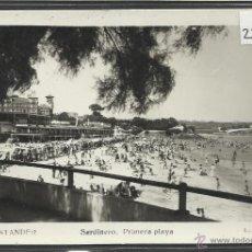 Postales: SANTANDER - 115- SARDINERO PRIMERA PLAYA - FOTOGRAFICA ROISIN - (22885). Lote 43480121
