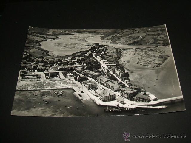 SAN VICENTE DE LA BARQUERA CANTABRIA VISTA AEREA (Postales - España - Cantabria Antigua (hasta 1.939))