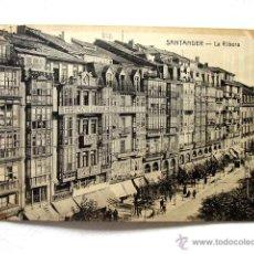 Postales: (CA-1) SANTANDER. LA RIBERA (HOTEL MAROÑO). Lote 43782186