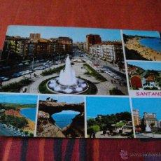 Postales: SANTANDER BONITAS VISTAS LA DE LAS FOTOS MIRA MAS POSTALES EN MI TIENDA VISITALA. Lote 43840249