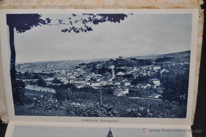 Postales: TIRA POSTAL RECUERDO DE COMILLAS. CANTABRIA. ED. ARRIBAS. 10 TARJETAS - Foto 3 - 44036321
