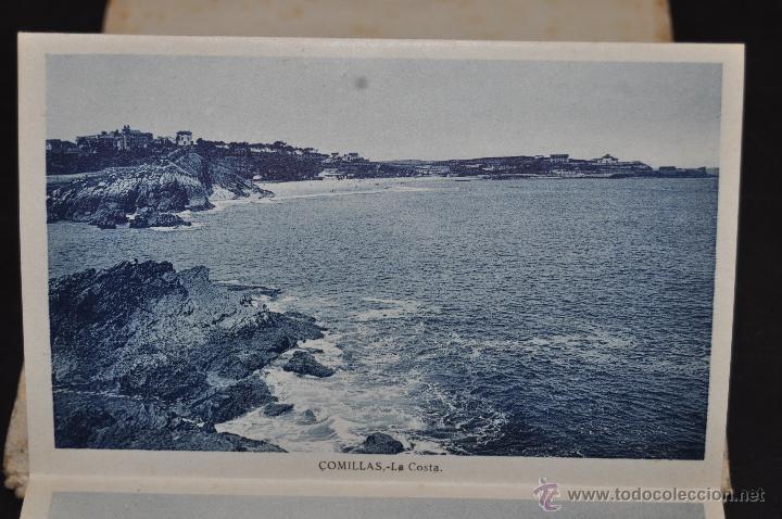 Postales: TIRA POSTAL RECUERDO DE COMILLAS. CANTABRIA. ED. ARRIBAS. 10 TARJETAS - Foto 5 - 44036321