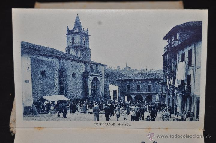 Postales: TIRA POSTAL RECUERDO DE COMILLAS. CANTABRIA. ED. ARRIBAS. 10 TARJETAS - Foto 7 - 44036321