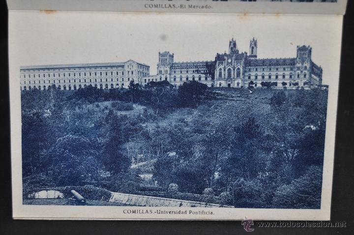 Postales: TIRA POSTAL RECUERDO DE COMILLAS. CANTABRIA. ED. ARRIBAS. 10 TARJETAS - Foto 8 - 44036321