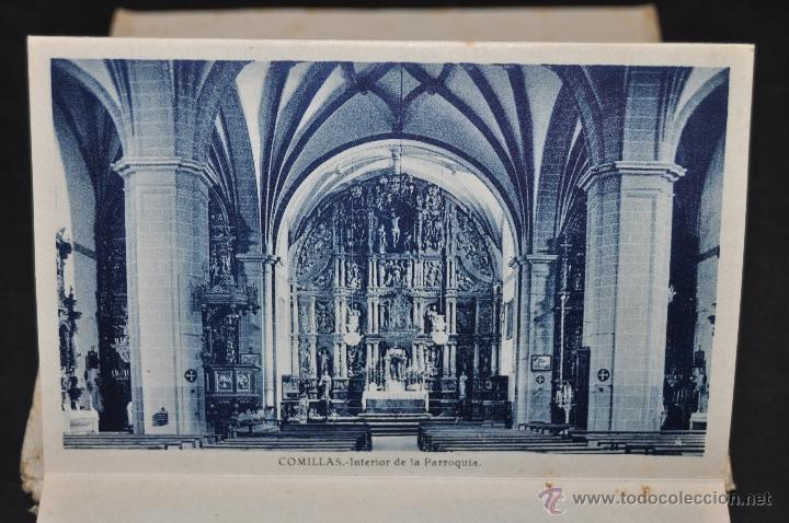Postales: TIRA POSTAL RECUERDO DE COMILLAS. CANTABRIA. ED. ARRIBAS. 10 TARJETAS - Foto 9 - 44036321